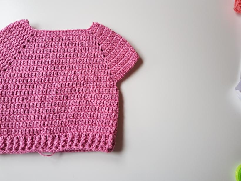 Easy Beginners Crochet Baby Jumper Lexie Loves Stitching